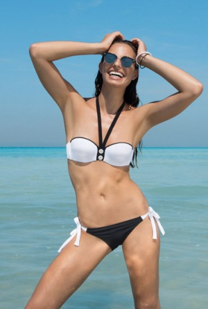 Bikini bandeau copa C de Antigel