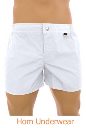 Bañador bermuda pantalon blanco Beach Fun hom