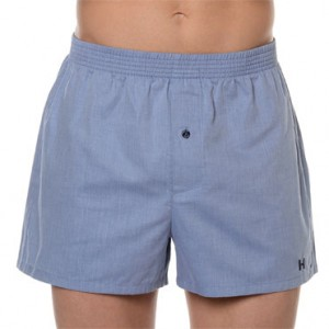 Boxer Tela New York Azul