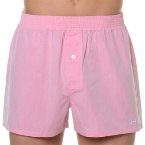 Boxer Tela New York Rosa