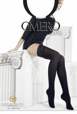 Media al muslo densa Iride50 Omero