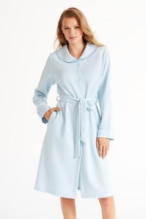 Bata azul de señora coleccion invierno de Promise