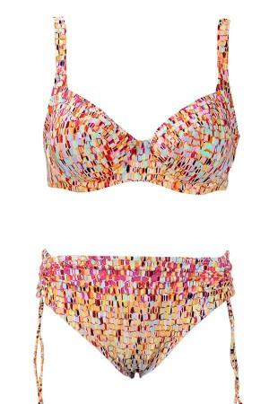 Bikini multicolor de Red Point