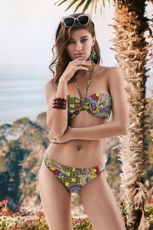Bikini bandeau cachemir coleccion Java de Basmar