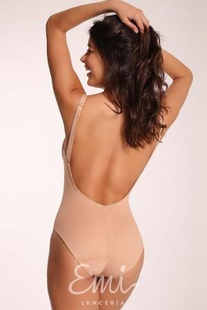 Body sin tirantes ni espalda Nicla Clara Body espalda libre vestidos palabra honor