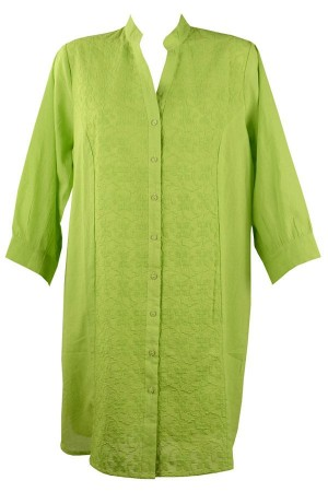 Camisa playera verde con bordado Monica de Red Point