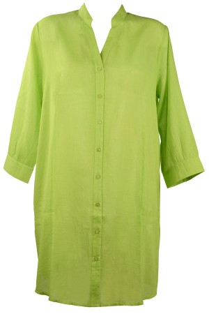 Camisa para playa en verde coleccion Malta de Red Point