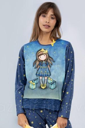 """Pijama algodón Gorjuss """"estrellas"""" de Santoro"""