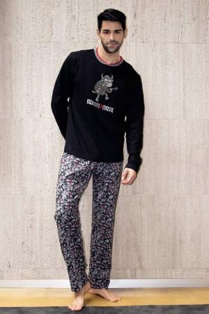 pijama-hombre-invierno-kukuxumusu-rock-and-roll-acdc