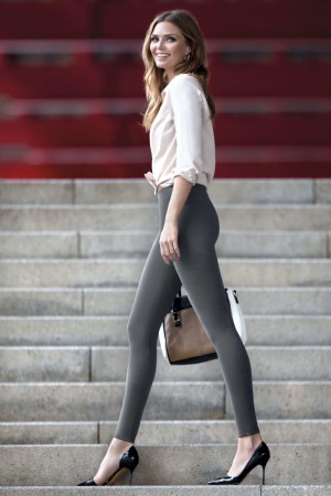 Legging push-up Janira gris