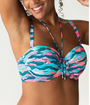 Bikini bandeau New Wave de Primadonna Swim