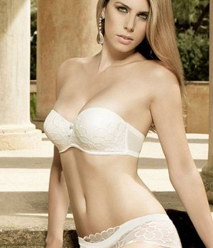 Sujetador push up para novia coleccion Fleur