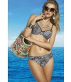 Bikini animal print copa D coleccion Barbosa
