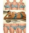 Bikini Samba Primadonna Swim Turquesa animal print