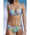 Sujetador con aros y braguita regulable