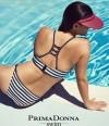 Bikini bandeau marinero California de Primadonna