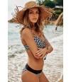 Bikini con aro copa E coleccion Milou Top de Rosa Faia