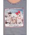 Pijama Massana dibujo perros marineros