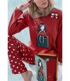 pijama-mujer-gorjus-book-rojo-topos