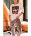 Pijama mujer Husky para invierno de Massana