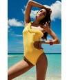 Trikini amarillo con un tirante de Vacanze Italiane