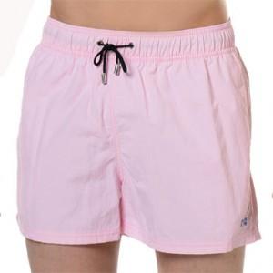 Bañador Bermuda para hombre en color rosa de Hom