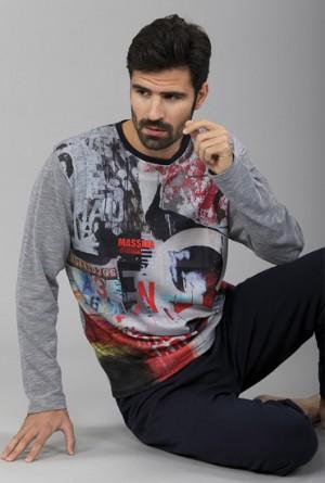 Pijama Hombre Collage Massana