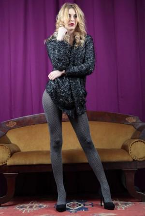 Panty Elke Cecilia de Rafael Brillo en color gris