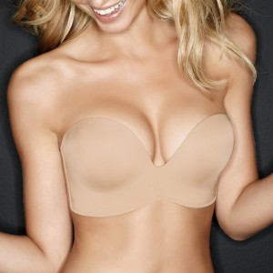 Sujetador sin tirantes Perfect Strapless Wonderbra color piel