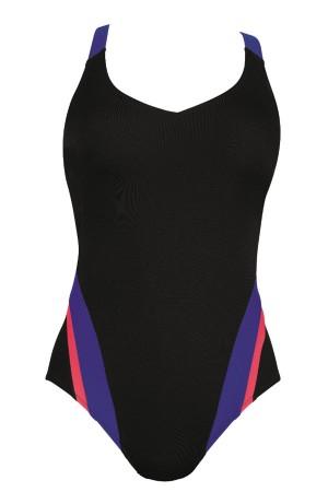 Bañador deportivo negro coleccion Priska Rosa Faia