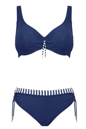 bikini reductor azul marino Lidea marinero 2018