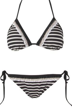 Bikini cortina a rayas copa B Odesa de Onades