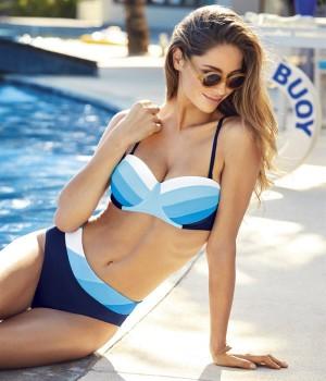 Bikini sin tirantes Lidea Bandeau 7882 moda bano 2018