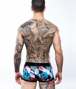 boxer de calaveras calzoncillos hombre discover underwear
