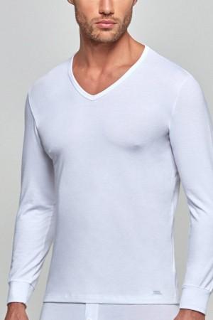 camiseta-termica-hombre-cuello-pico-manga-larga-impetus-1367606-blanco