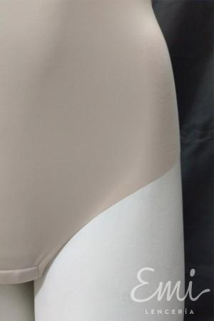Body tanga espalda descubierta microfibra no marca sin costuras y cortado a laser