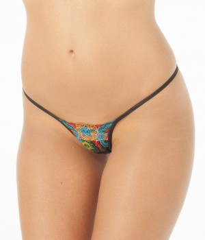 Tanga de tira multicolor Joy de Alter
