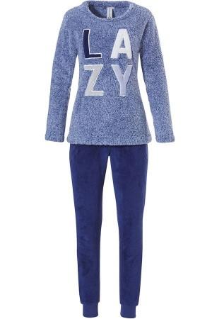 "Pijama azul polar ""Lazy"" de invierno Rebelle"