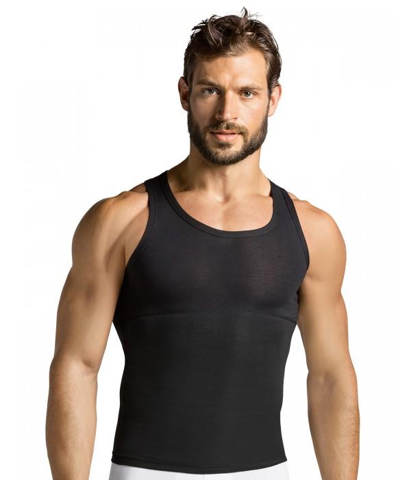 Camiseta reductora 035013 Leo. Camisetas de compresion fuerte.