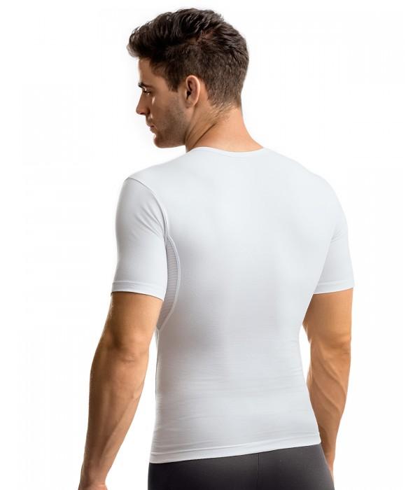 Camiseta reductora tripa espalda y michelines