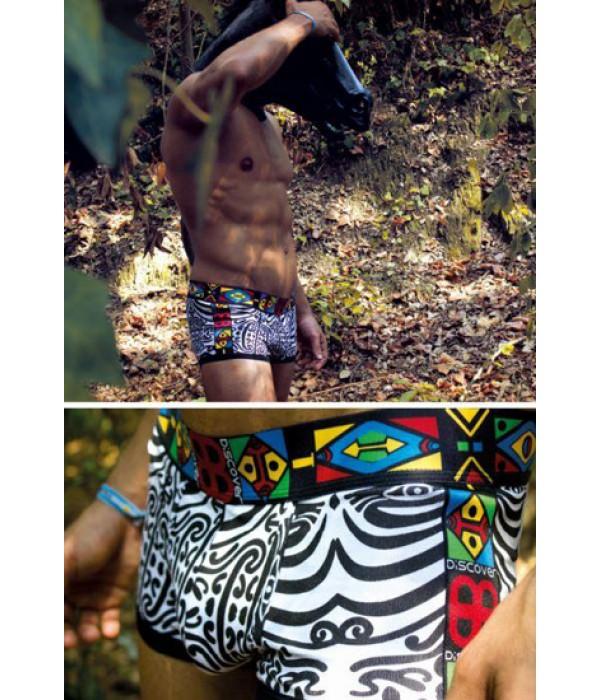 Boxer estampado Maori Discover Underwear