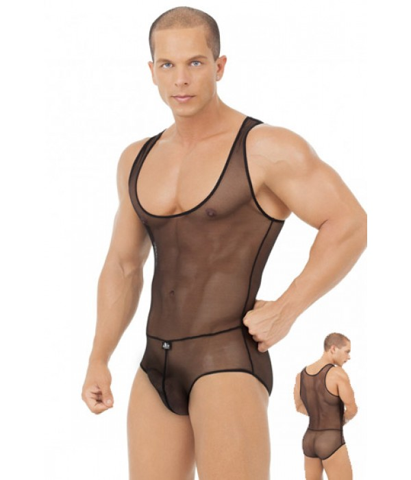 89613d29b Body sexy con transparencias hombre Capture Alter