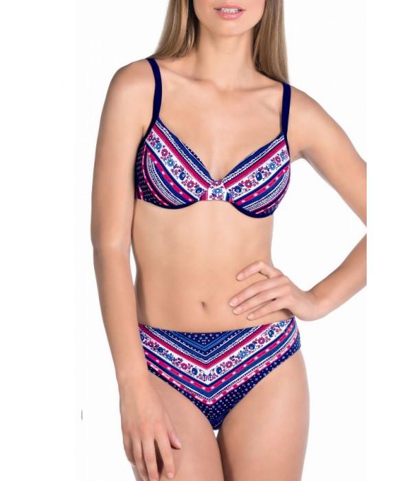 Bikini azul y rojo juvenil 3022 de Tamoure