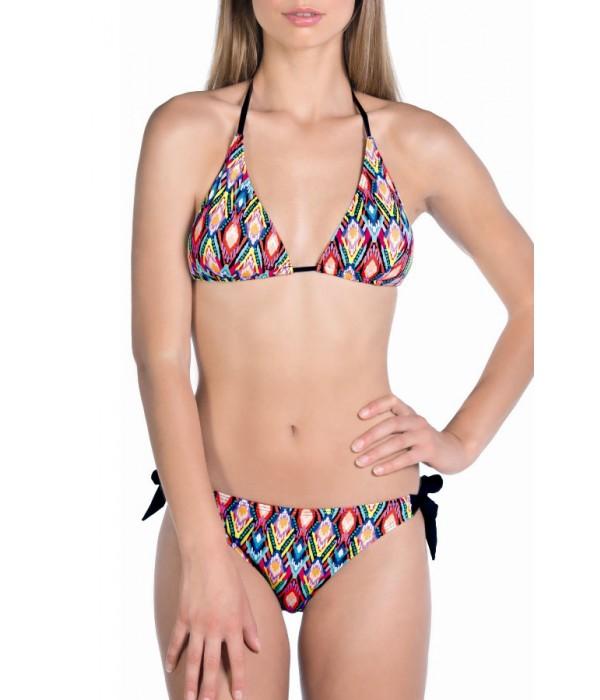 Bikini cortinilla etnico multicolor 3013 de Tamoure