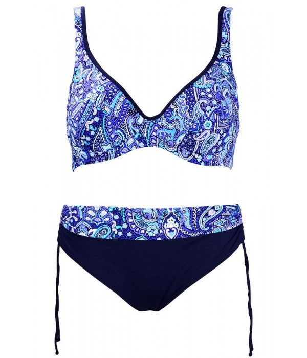 Bikini de Onades azul coleccion Beira