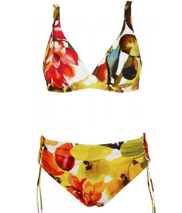 Bikini copa D con braga alta regulable Jaco de Red Point