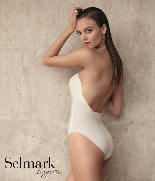 body espalda descubierta escotado sin tirantes selmark novias