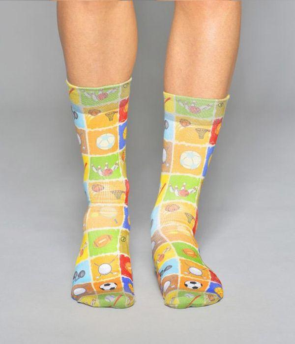 elegir despacho nueva estilos nuevo producto Calcetines personalizado Deportistas Wigglesteps
