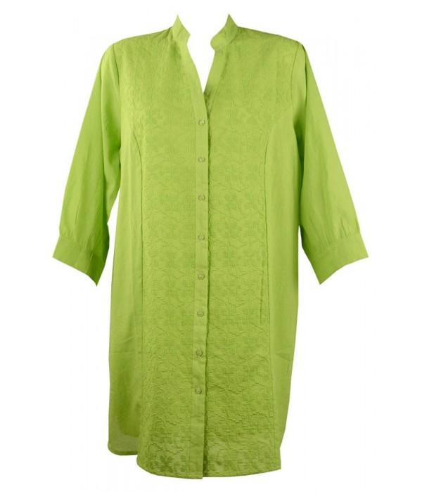 Camisa playera verde con bordado Monica de Red Point