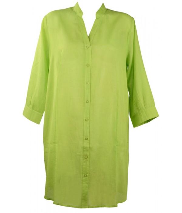 Camisa para playa en verde coleccion Malta de Red Point